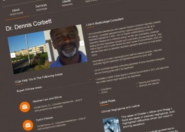 dr dennis corbett websites for consultants