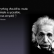 """""""I have no special talent, I am only passionately curious."""" – Albert Einstein"""