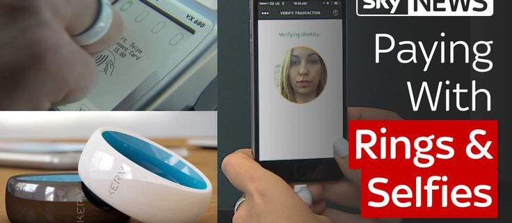 Selfies And Contactless Rings: New Ways To Pay