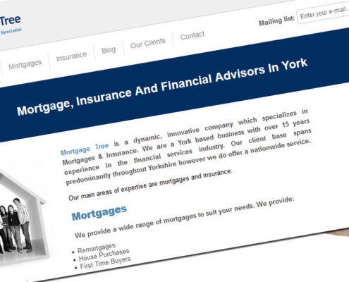 wordpress websites for mortgage advisers